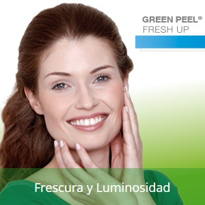 Tratamiento vegetal GREEN PEEL freshup